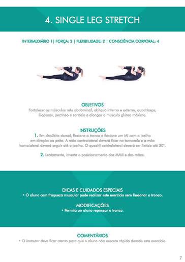 Curso Pilates - Formação Completa Pilates - Curso Espaço Vida Pilates - Livro Prático