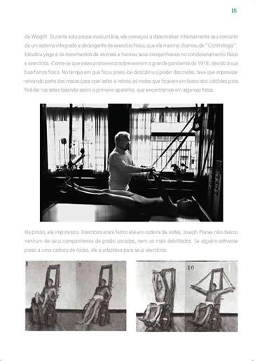 Curso Pilates - Formação Completa Pilates - Curso Espaço Vida Pilates - Livro Teórico