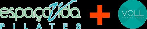 Logo Espaço Vida Pilates + VOLL